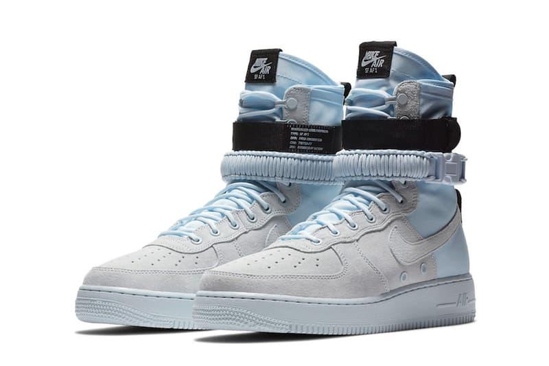 Nike SF-AF1 Blue Tint Grey Black footwear 2018 nike sportswear