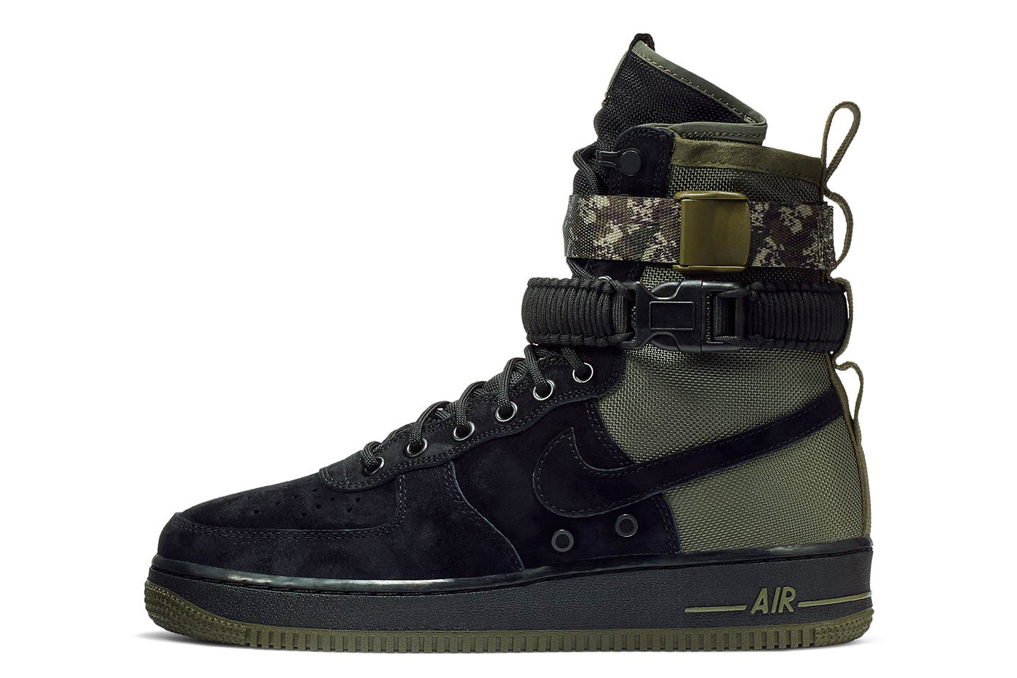 Nike SF-AF1 With Camo Strap | HYPEBEAST