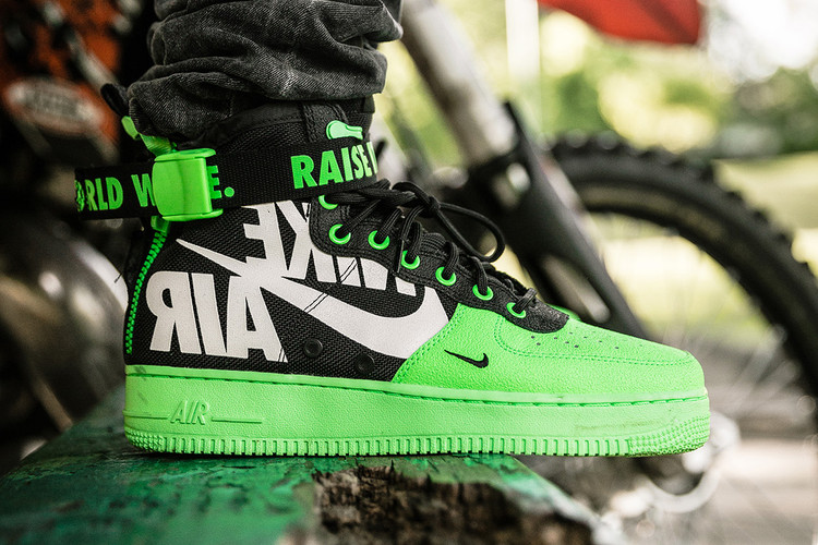 d1004c6f383d7 Nike Creates More Exclusive SF-AF1 Mids for Baltimore Bike Crew