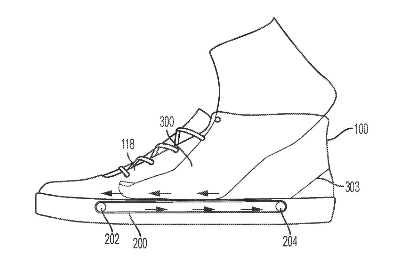 Nike In-Shoe Treadmill Patent | HYPEBEAST