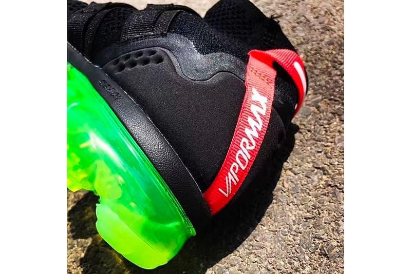 Nike VaporMax Utility black neon green first look sneaker footwear