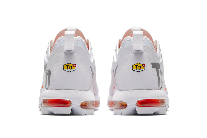 7b0b86b7717b Nike Air Max Plus Tn SE White Orange release date price purchase first look  2018 sneaker