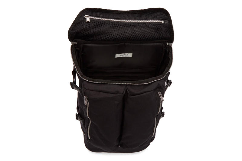 c409fae58031 nonnative Spring Summer 2018 Tourist Backpack black release info bags  accessories