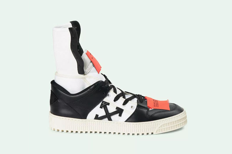 37067ec89a9a off white high 3.0 black white Virgil Abloh Sneaker