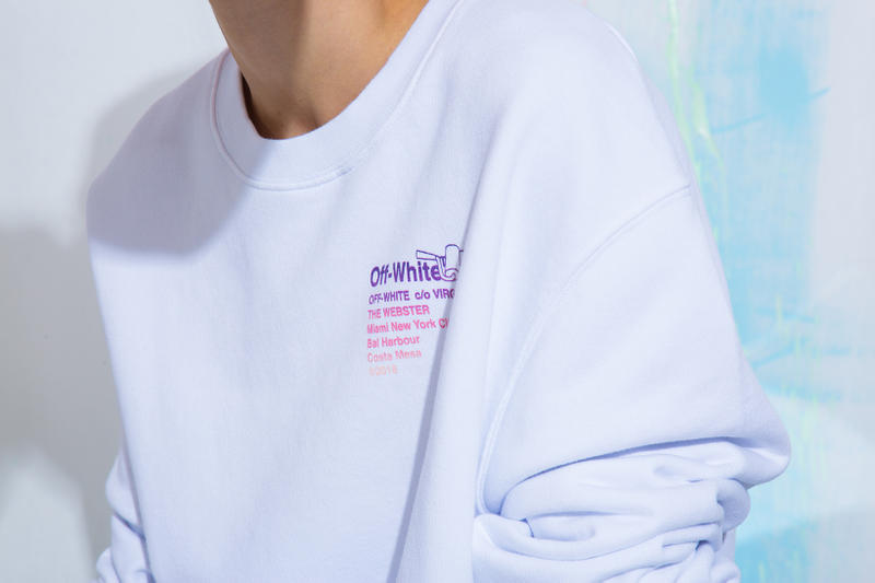 The Webster Off White Summer 2018 Capsule Collection virgil abloh collaboration release date info drop