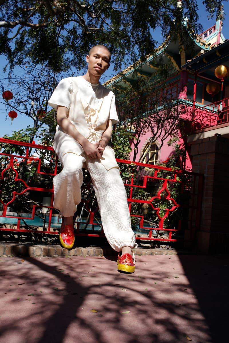 Opening Ceremony Vans Classic OG Slip On LX Good Luck Pack Dragon Glitter Sneakers