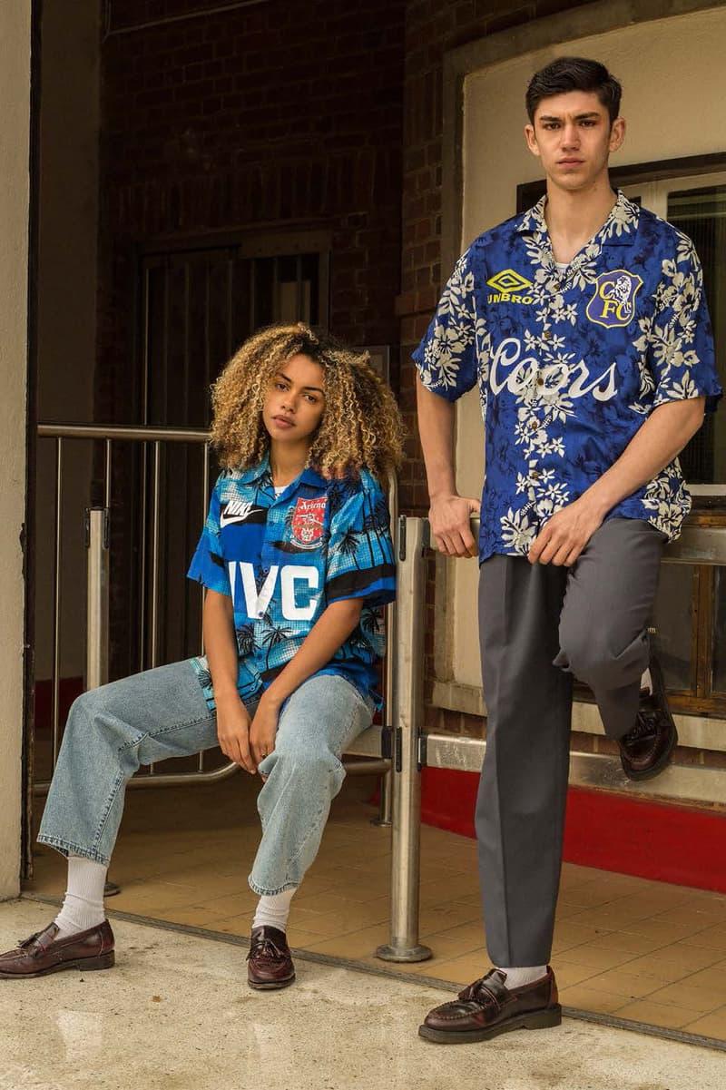 on sale cf177 b206e OWN Launches Hawaiian Shirt-Based Football Tops | HYPEBEAST