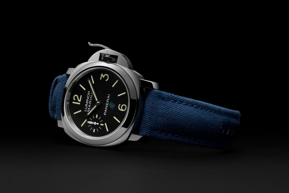 Panerai Introduces Luminor Logo Series watch chronograph hand-wound italian sports stainless steel
