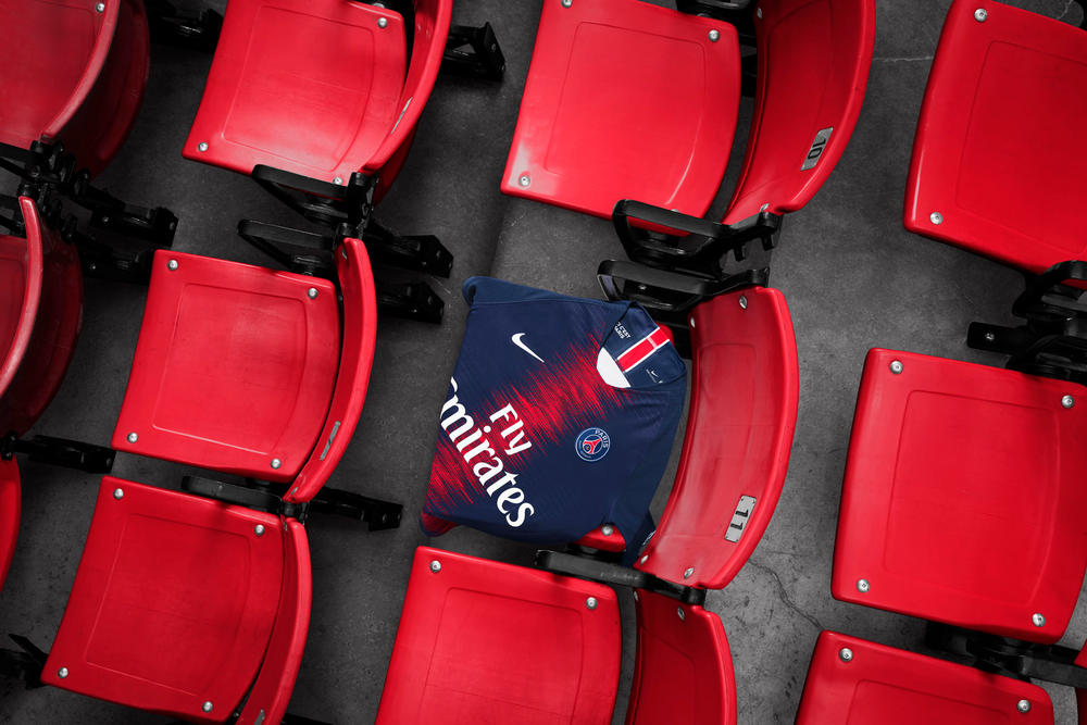 Paris Saint-Germain's 2018/19 Home Kit