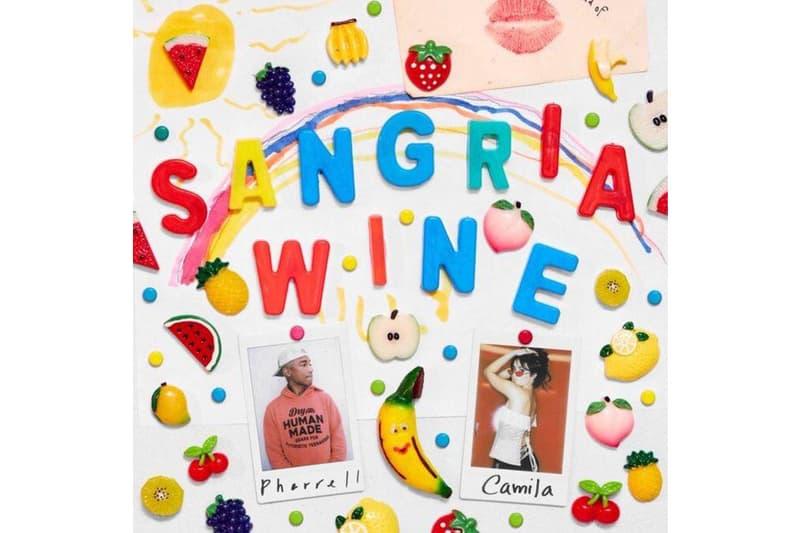 Pharrell Camila Cabello Sangria Wine single stream may 17 2018 release date info drop debut premiere itunes apple music