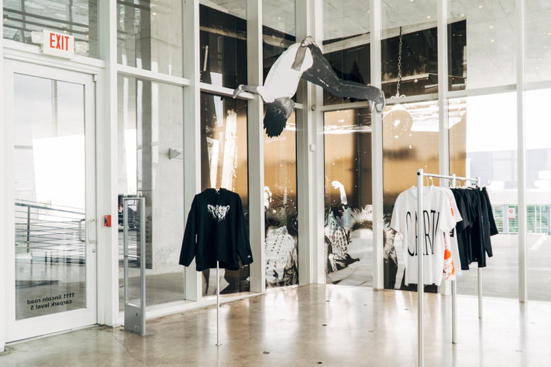 playboi carti alchemist pop up miami fashion apparel clothing merchandise