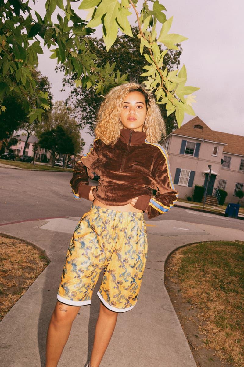 PLEASURES Summer 2018 Collection Lookbook Alex James Jacket T Shirt Pants Trousers Pullover