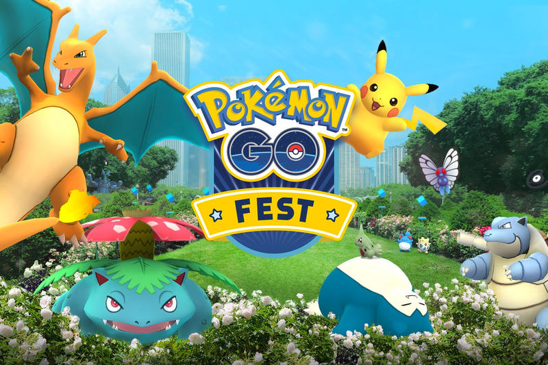 Pokémon GO Fest Niantic Chicago summer 2018 tickets price date location