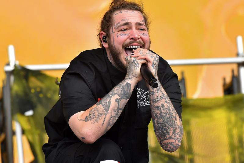 Post Malone The Beatles J Cole  Billboard Hot 100 Record beerbongs bentleys 2018 most top 20 hits 40
