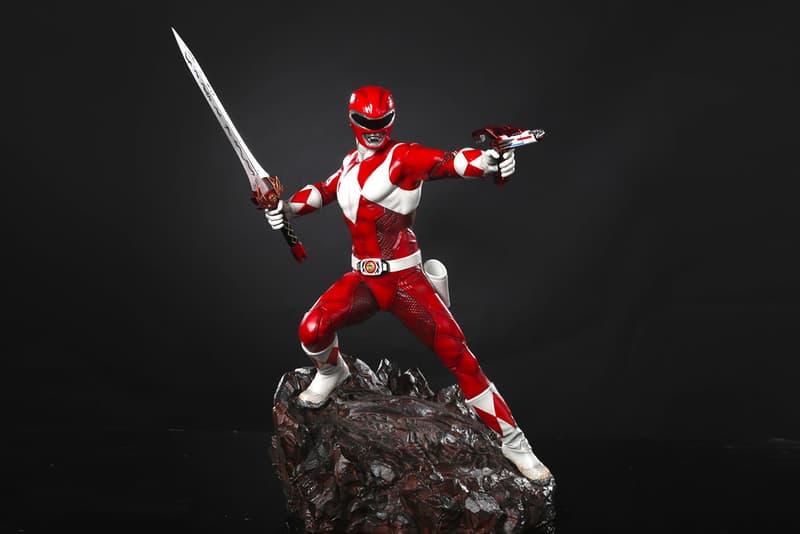 XM Studios 'Power Rangers' Red Ranger Statue saban figurine collectible premium toy