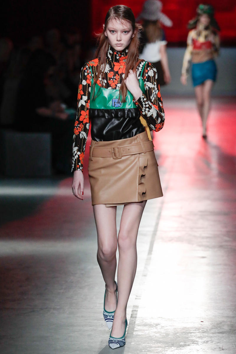 Prada Resort 2019 Collection Runway Show New York City Ugly Prints 1990s