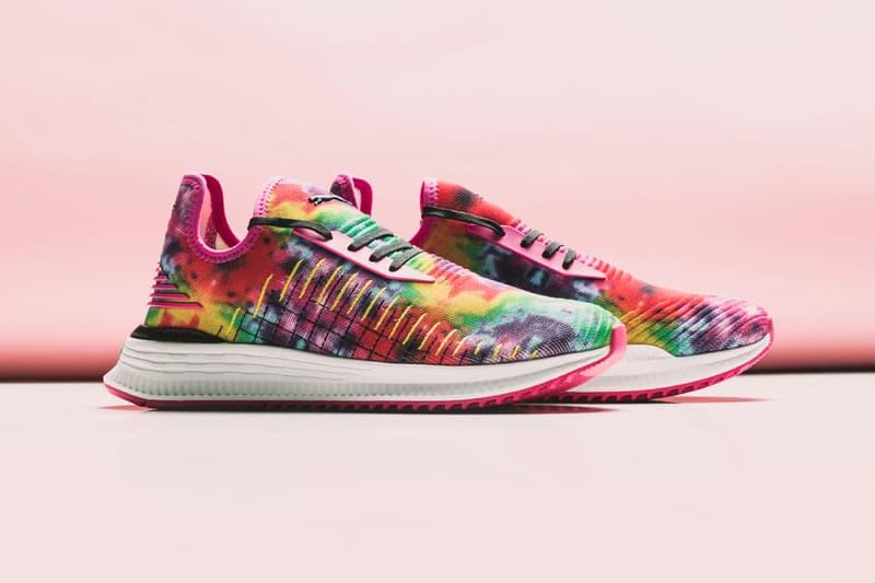 Puma Avid Evoknit Haze Beetroot Purple first look release info May 18 multicolored sneaker footwear