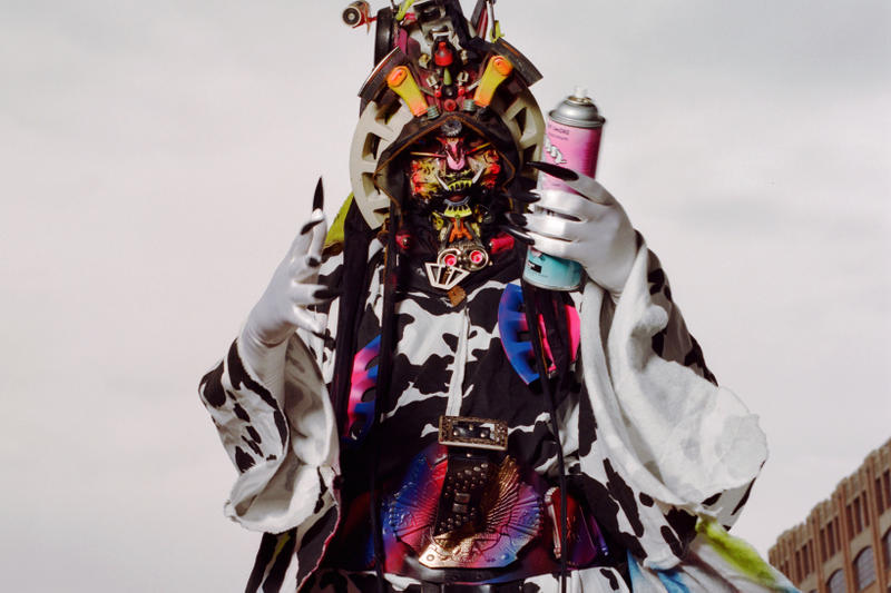 rammellzee racing for thunder max wolf interview red bull arts ny exhibition retrospective sculptures paintings gothic futurism