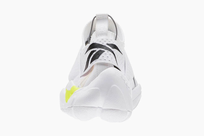 Reebok DMX Fusion AFF Slip-On sneaker release date white neon yellow available now price