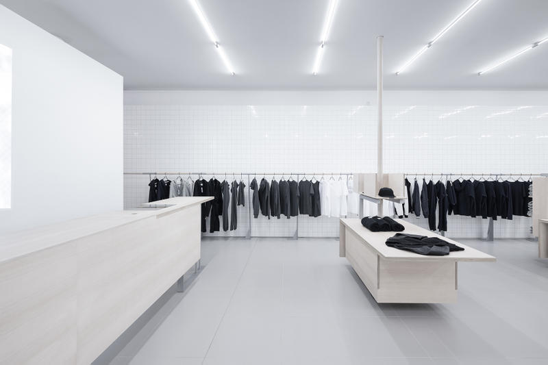 Reigning Champ New Flagship Store Vancouver 1148 Robson Street Designed Award Winning Canadian Architect Peter Cardew Respect Details Master Simplicity