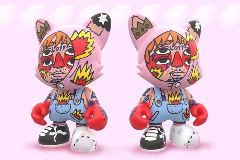 ricardo cavolo superplastic garth vinyl figure art toy collectible