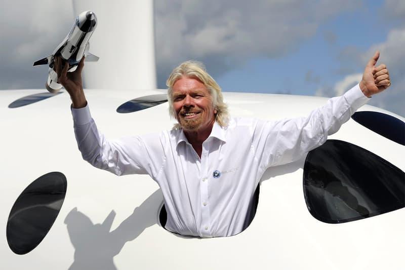 Richard Branson virgin galactic space travel space ship