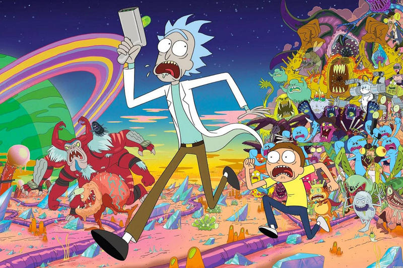 Rick and Morty 70 New Episodes adult swim season 4 renew contract 2019 premiere date air justin roiland dan harmon