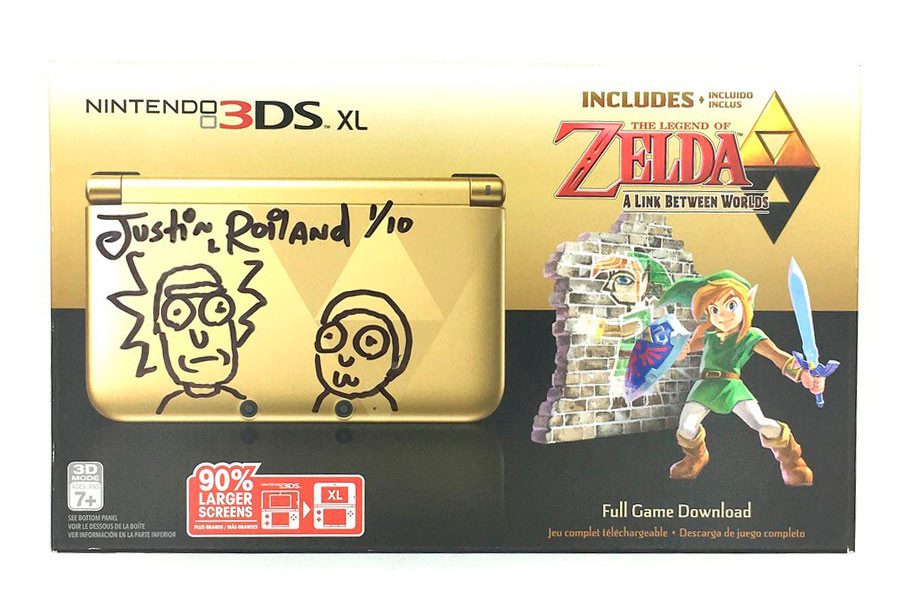 Rick And Morty S Justin Roiland Sells 3ds For 1k Hypebeast