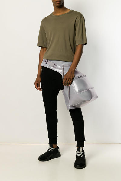 Rick Owens Double Cargo Backpack Leg Pack Black Silver Olive Bags Accessories Trends