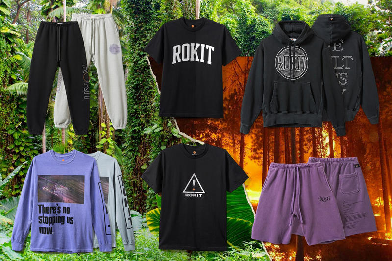 ROKIT Spring Summer 2018 Into The Wild collection lookbook release info Jon Krakauer book hoodies track pants shorts T-shirts