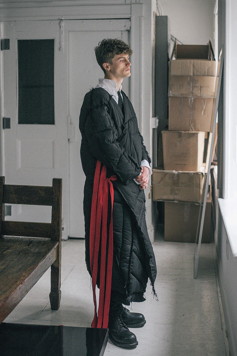 SANCT thesis collection fall winter 2018 by aj Anne Li lookbook