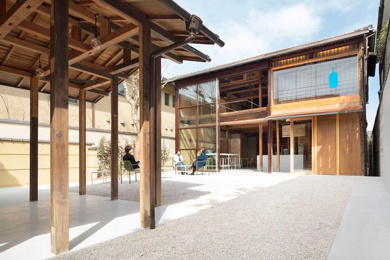 Blue Bottle Coffee Cafe Schemata Architects Hypebeast - Architecture-design-in-kyoto-japan