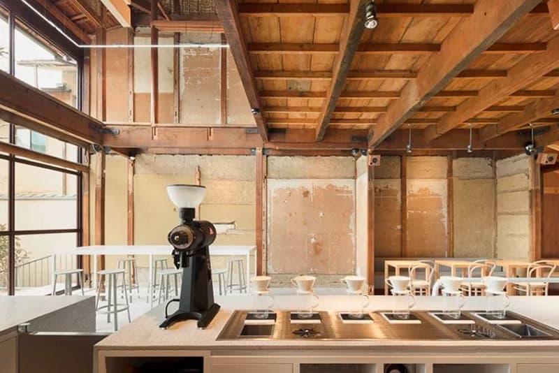 Blue Bottle Coffee Kyoto cafe japan Schemata Architects address architecture design interior