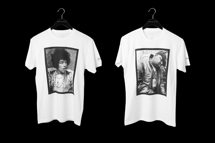 91409f2b Sean John Commemorates Its 20th Anniversary With Themed Tees Honoring  Musical Legends
