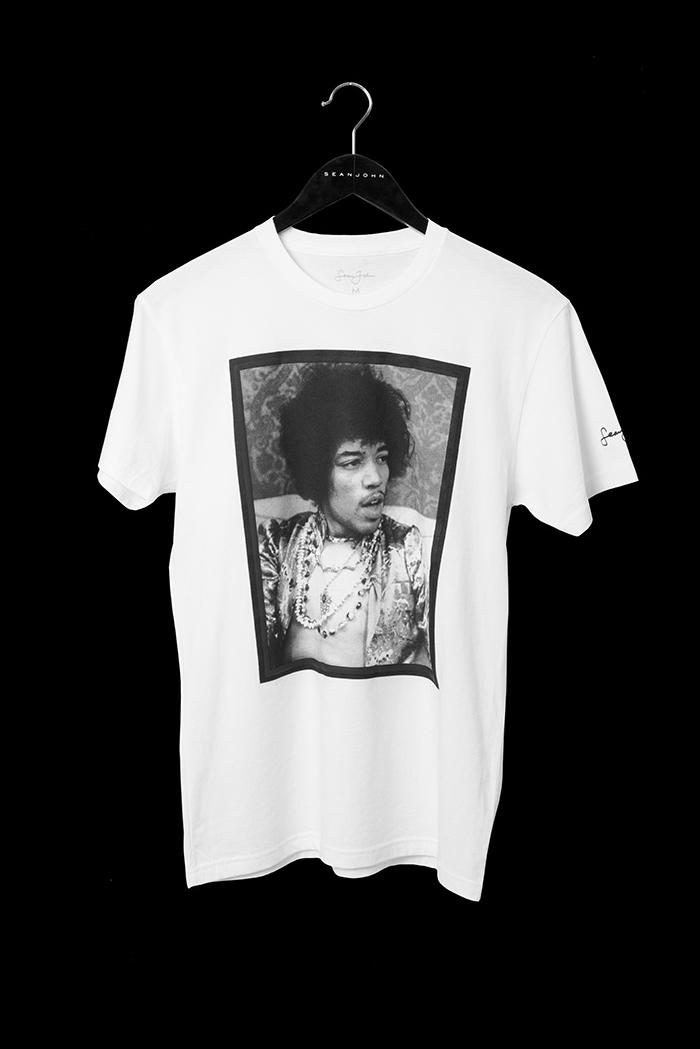 Sean John 20th Anniversary Gallery Collection aaliyah biggie jimi hendrix chaka khan marvin gaye T-shirts release info diddy