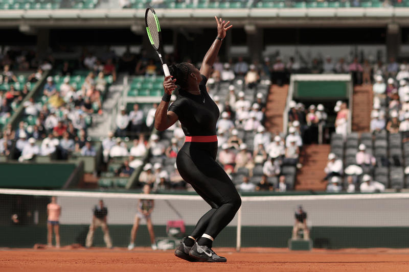 Serena Williams Nike Catsuit French Open Paris 2018