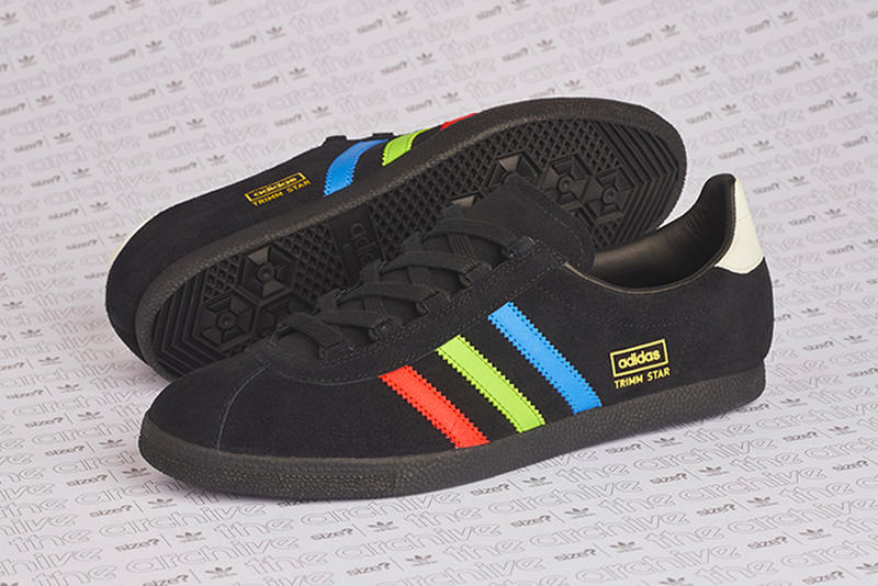 "size  adidas Originals Trimm Star ""VHS"" black release date info exclusive  sneaker retro f3c2495fc"