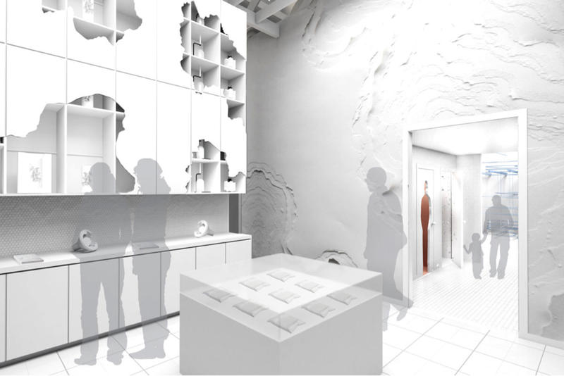 snarkitecture fun house national building museum daniel arsham alex mustonen exhibition architecture design art artworks