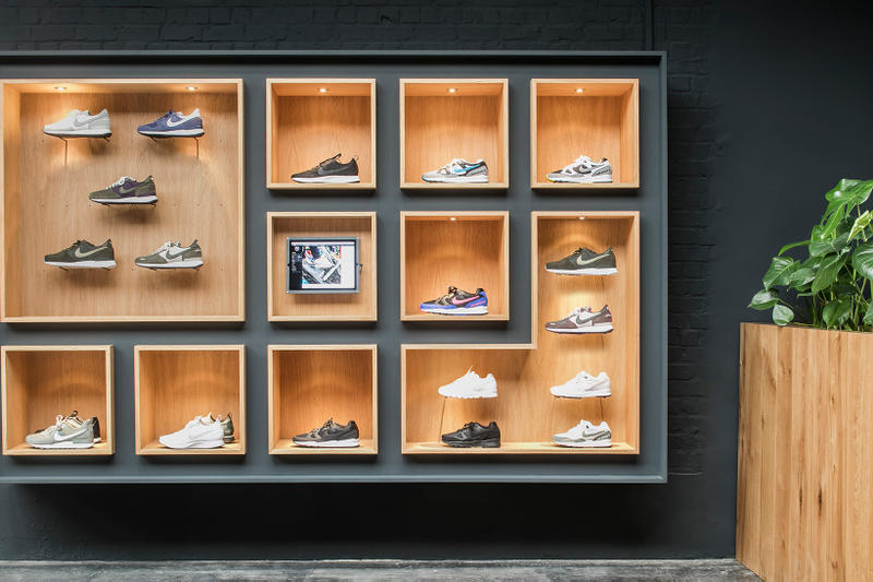 Sneaker District Store Antwerp Belgium Nike Raf Simons Kvadrat Elephant Print Architecture Design Interior Exterior Influence Inspiration Address Details Opening