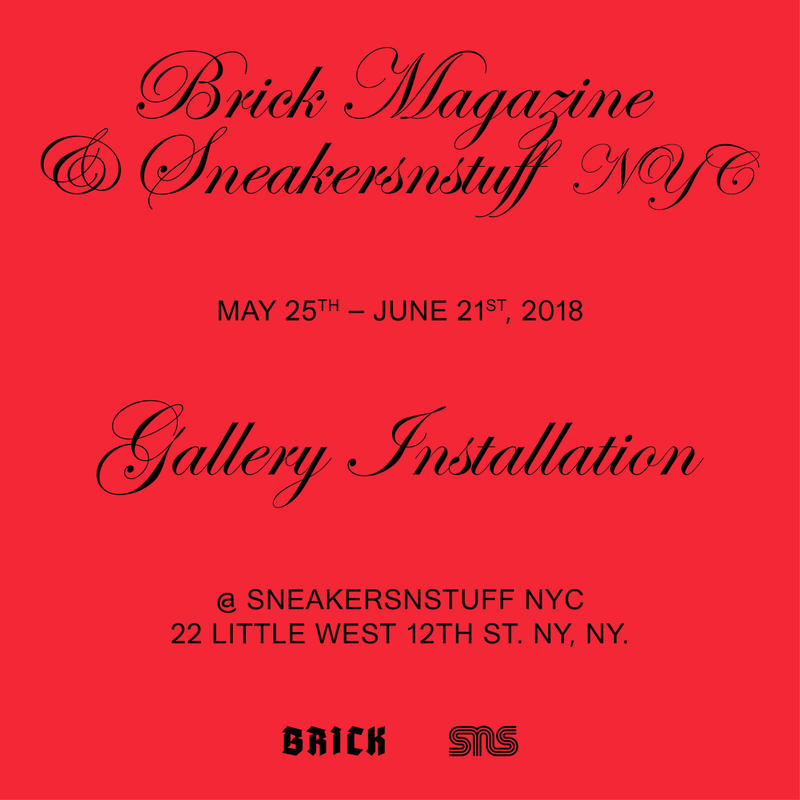 Sneakersnstuff BRICK Magazine edition 5 photography kali uchis 2 chains brockhampton trippie redd rich the kid