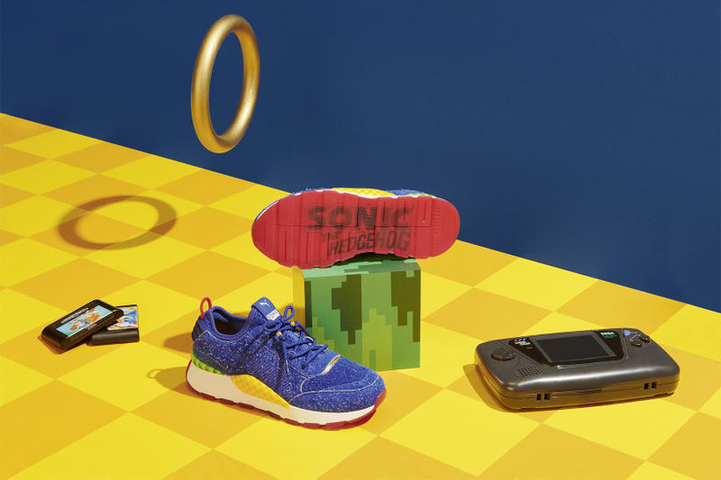 PUMA Sonic The Hedgehog Collaboration sega june 5 2018 release date info drop sneakers shoes footwear Dr. Eggman