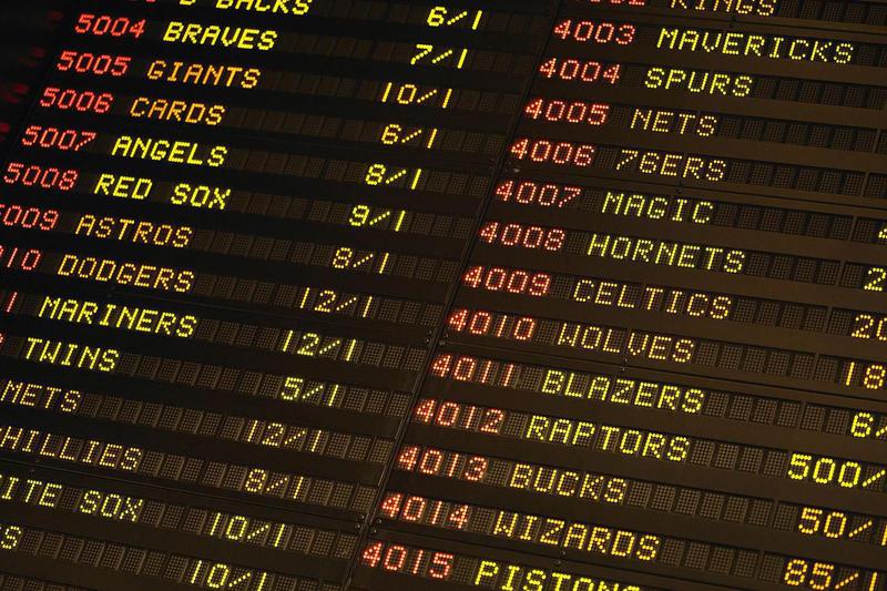 Supreme Court Federal Sports Gambling Law struck down states rights betting nevada