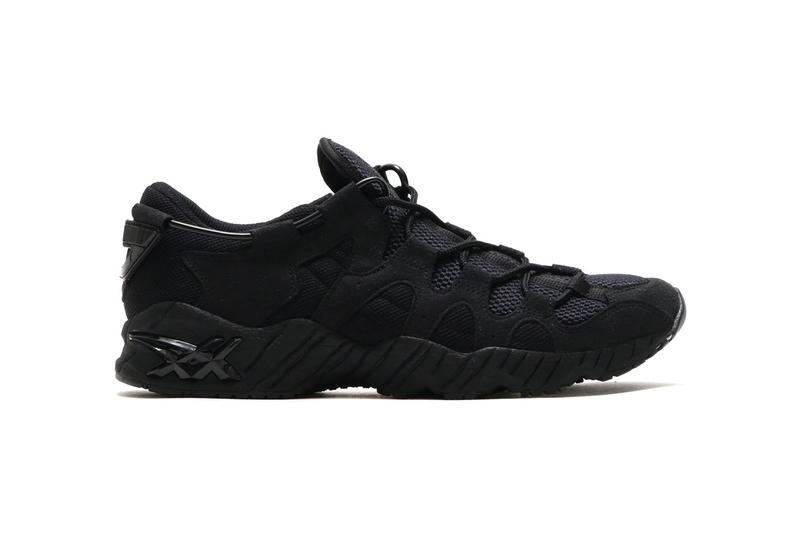 Sports LAB by atmos ASICS GEL Mai Triple Black may 3 2018 release date info drop sneakers shoes footwear