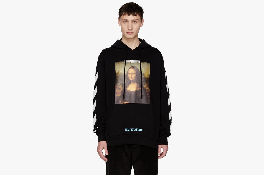 Off White SSENSE Exclusive Monalisa Hoodie Black Colorway Release Details Available Cop Purchase Buy Now £400 GBP 650 USD Virgil Abloh