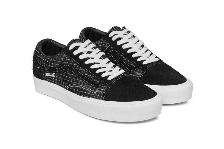 5ab146215e30 Starcow Upgrades a Pair of Vans With Windowpane Check · Footwear