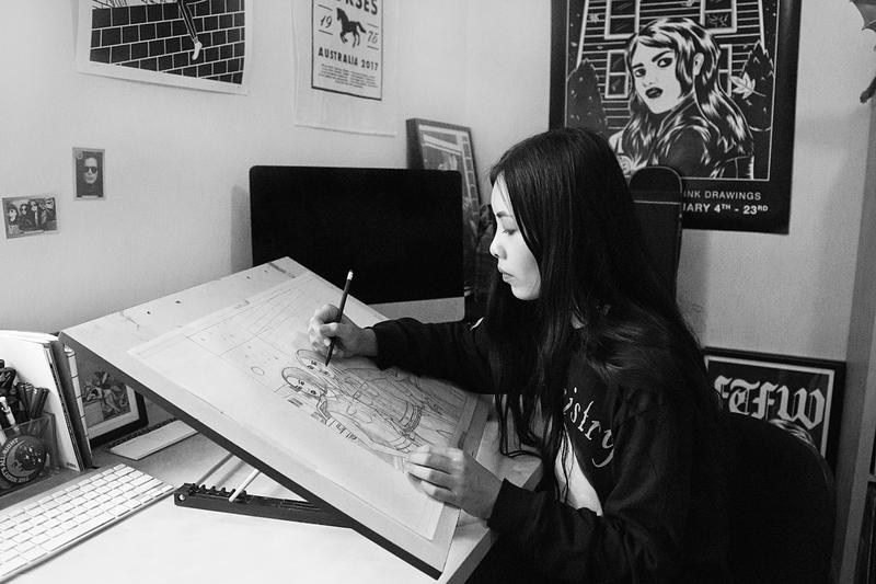 Stellar Leuna interview hypebae prada spring summer 2018 artwork collection runway