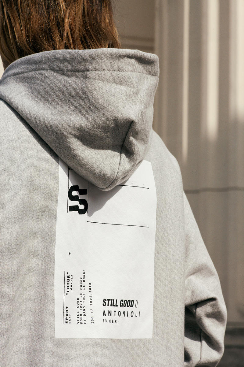 STILL GOOD ANTONIOLI INNER Collaboration may 2018 release date info drop tee shirt hoodie limited exclusive two pair Clement TAVERNITI