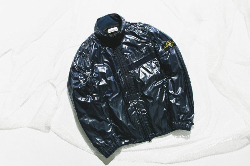Stone Island Spring/Summer 2018 Deliveries HBX Jackets Closer Look Outerwear Coats Materials Fabrics Techniques Technologies Innovative