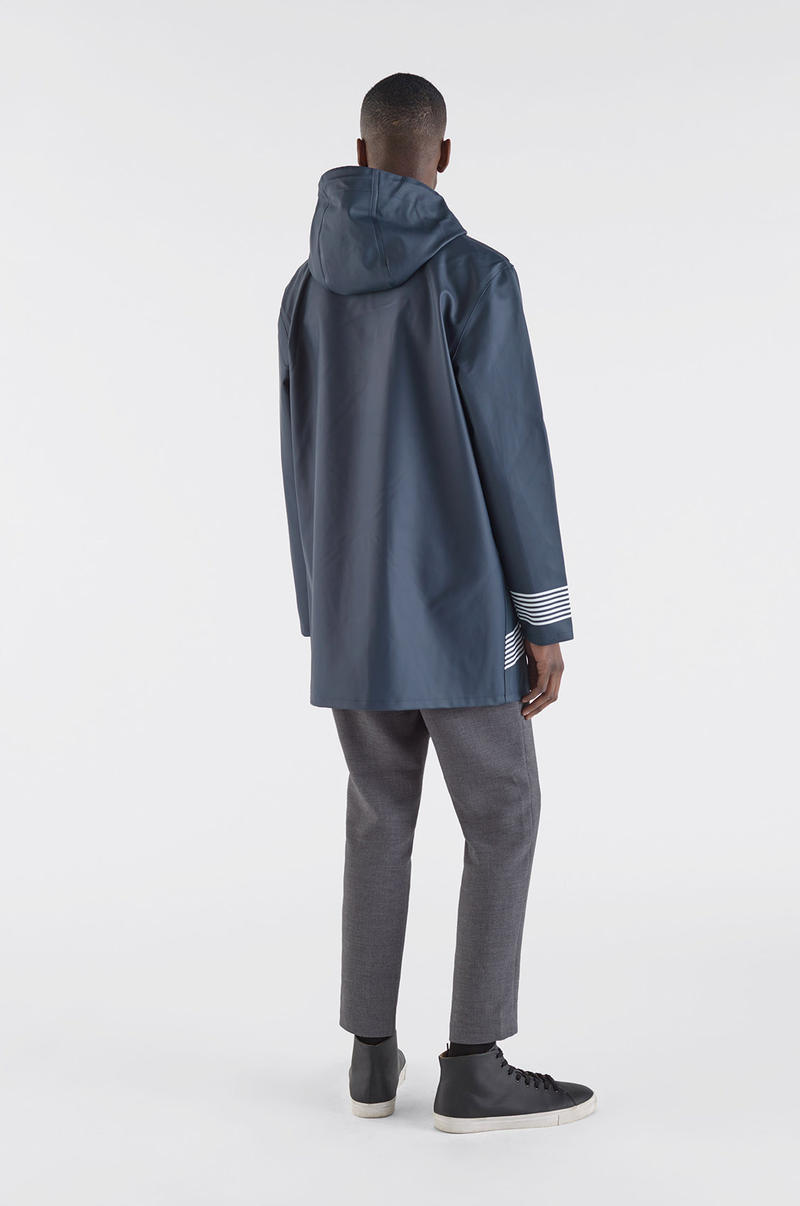 Band of Outsiders Stutterheim Fall Winter 2018 FW 2018 London Fashion Week Mens Raincoat Collaboration Collection
