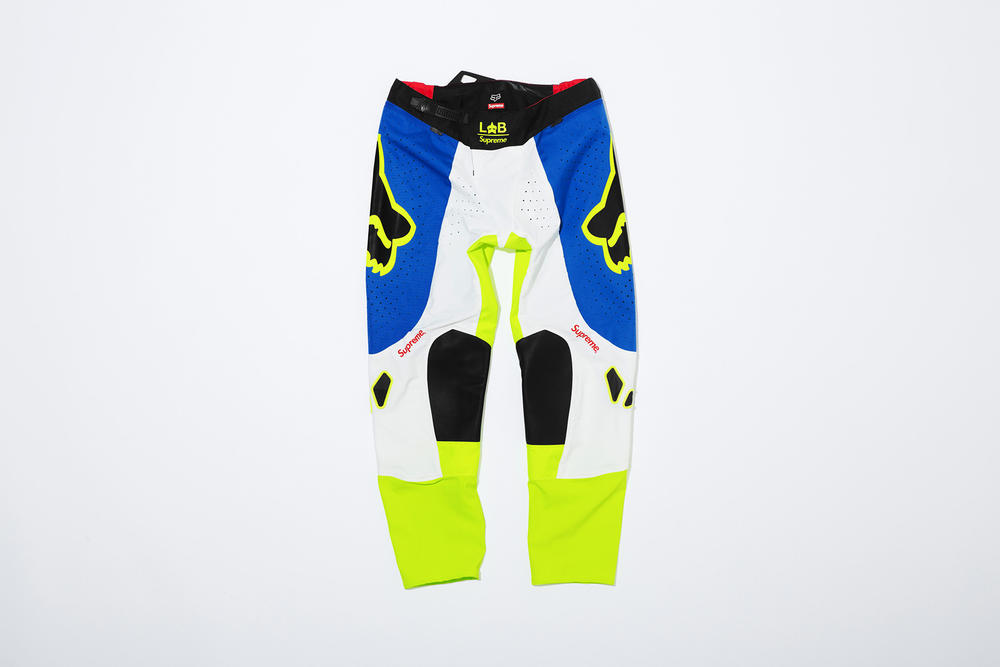 Supreme x Fox Racing Moto Pant Blue Front